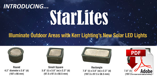 Announcing New Solar LED Paver Lights