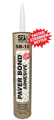 Paver Bond Adhesive Sb 10 Sek Surebond Hardscape Installation Protection